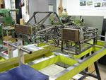 Chassis under construction