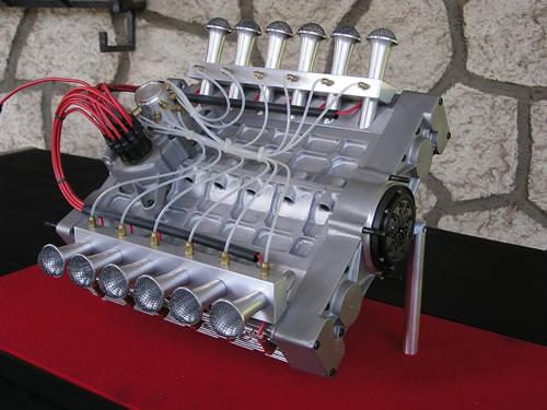 Moteur 12 Cylindres Plat